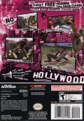 Tony Hawk's American Wasteland GameCube Back Cover