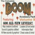 The Complete DOOM Accessory Pack, Volume II DOS Front Cover