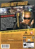 Duke Nukem Forever Windows Back Cover