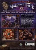 Mystery Case Files: Madame Fate Windows Back Cover