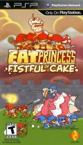 Fat Princess: Fistful of Cake PSP Front Cover