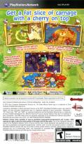 Fat Princess: Fistful of Cake PSP Back Cover