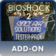 BioShock 2: Sinclair Solutions Tester Pack PlayStation 3 Front Cover