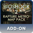 BioShock 2: Rapture Metro Map Pack PlayStation 3 Front Cover