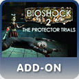 BioShock 2: The Protector Trials PlayStation 3 Front Cover