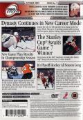 NHL FaceOff 2003 PlayStation 2 Back Cover