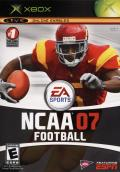 NCAA Football 07 Xbox Front Cover
