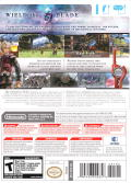 Xenoblade Chronicles Wii Back Cover