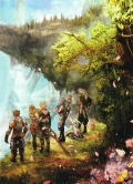 Xenoblade Chronicles Wii Inside Cover Right