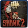 Shank 2 PlayStation 3 Front Cover