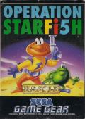 James Pond 3: Operation Starfish Game Gear Front Cover