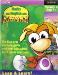 Maths and English with Rayman: Volume 2 DOS Front Cover