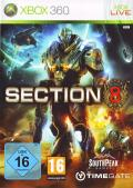 Section 8 Xbox 360 Front Cover