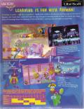 Maths and English with Rayman: Volume 3 DOS Back Cover