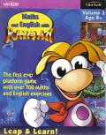 Maths and English with Rayman: Volume 3 DOS Front Cover