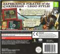 LEGO Pirates of the Caribbean: The Video Game Nintendo DS Back Cover