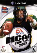 NCAA Football 2003 GameCube Front Cover
