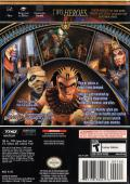 Sphinx and the Cursed Mummy GameCube Back Cover