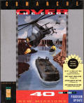 Comanche: Over the Edge DOS Front Cover