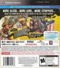 The House of the Dead: Overkill - Extended Cut PlayStation 3 Back Cover