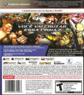 Street Fighter X Tekken PlayStation 3 Back Cover