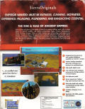 The Rise & Rule of Ancient Empires Windows Back Cover