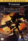 Shadow the Hedgehog GameCube Front Cover