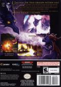 The Legend of Spyro: A New Beginning GameCube Back Cover