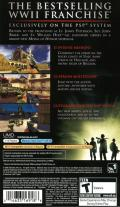 Medal of Honor: Heroes PSP Back Cover