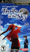 The Legend of Heroes: Trails in the Sky PSP Front Cover