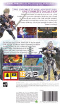 Final Fantasy IV: The Complete Collection PSP Back Cover