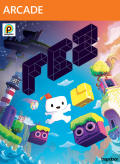 FEZ Xbox 360 Front Cover