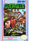 Guerrilla War NES Front Cover