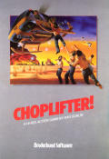 Choplifter! Commodore 64 Front Cover