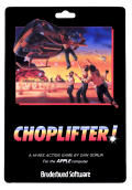 Choplifter! Apple II Front Cover