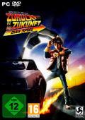 Back to the Future: The Game Windows Front Cover