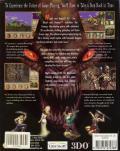 Might and Magic VII: For Blood and Honor Windows Back Cover