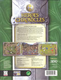 Heroes Chronicles: Clash of the Dragons Windows Back Cover