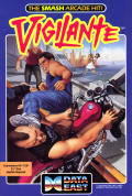Vigilante Commodore 64 Front Cover