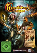 Drakensang Online Windows Front Cover with special items and the dragon pet
