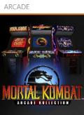 Mortal Kombat: Arcade Kollection Xbox 360 Front Cover