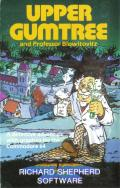 Upper Gumtree and Professor Blowitovitz Commodore 64 Front Cover