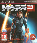 Mass Effect 3 PlayStation 3 Front Cover Femshep reverse cover
