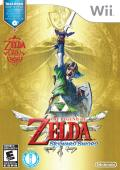 The Legend of Zelda: Skyward Sword Wii Front Cover