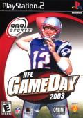 NFL GameDay 2003 PlayStation 2 Front Cover