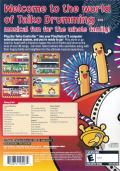 Taiko Drum Master PlayStation 2 Back Cover