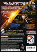 Mass Effect 2 Xbox 360 Back Cover
