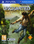 Uncharted: Golden Abyss PS Vita Front Cover