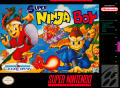 Super Ninja Boy SNES Front Cover