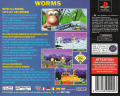Worms PlayStation Back Cover